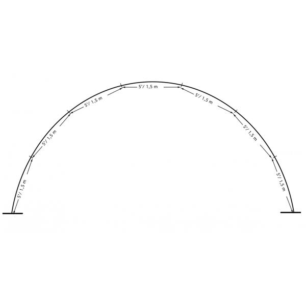 location structure arche 10.5 m pour exterieurarche 10.5 ext BWS Structures Pour Décorations