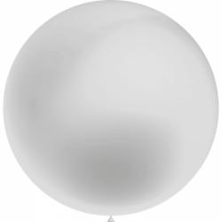 1 ballon 75cm argent ballon
