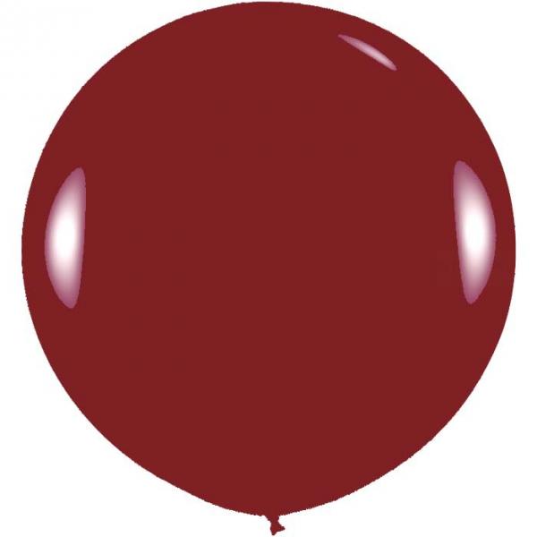 1 ballon 75cm bordeaux métal ballonbnia75bordeauxmétalp1 BALOONIA Ballons Gamme Eco