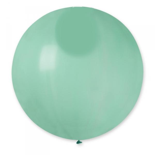MÉTALLISÉ aquamarine rond 40 cm POCHE DE 55740 BWS 40 cm rond métal (pour décoration air ou hélium )