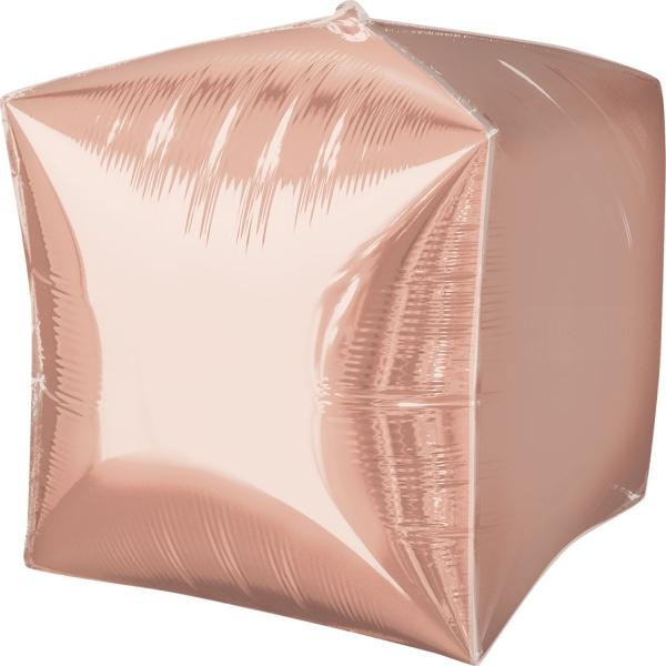 3 Cubes rose gold 38 cm