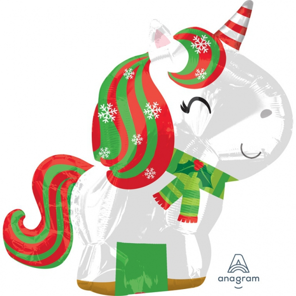 Licorne de Noel20428 AMSCAN Noël