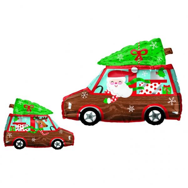 Camion de Noel20428 AMSCAN Noël