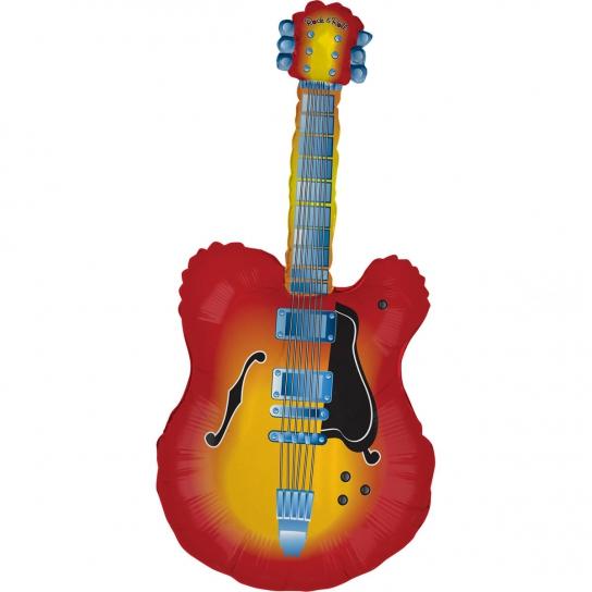 guitare mylar 109 cm à plat vendu non gonflé