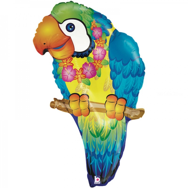 perroquet tropical mylar 73.6 cm85330P BETALLIC Animaux