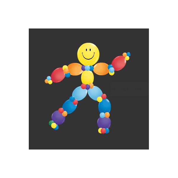 Kit personnage arc en ciel ballons à suspendrekitlolarenciel Kits Personnages