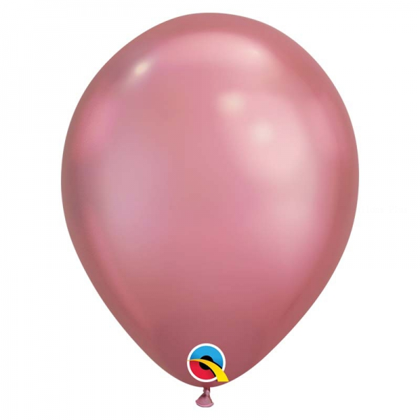 Chrome qualatex 28 cm mauve poche de 25Chrome mauve q28 p25 QUALATEX 28 Cm Metal Qualatex 28 Cm Ø Ballons