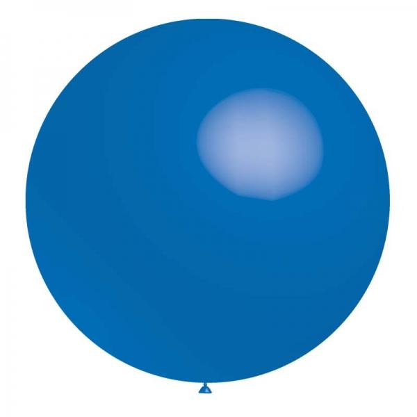 1 ballon 75cm bleu foncé métal ballon
