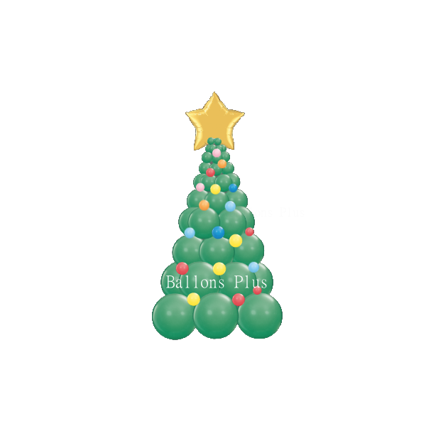 kit Sapin Noel 2ballonsplus2018sapinv12 Decor Ballons Kits Colonnes