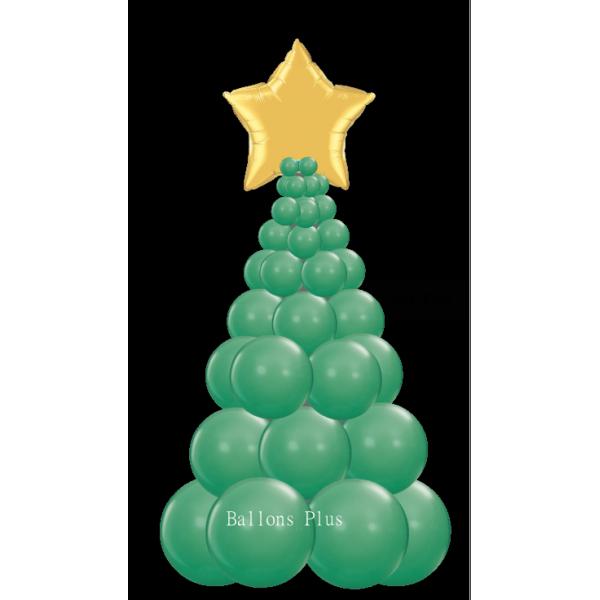 kit Sapin Noel vert foretballonsplus2018sapinnuvertforet Decor Ballons Kits Colonnes