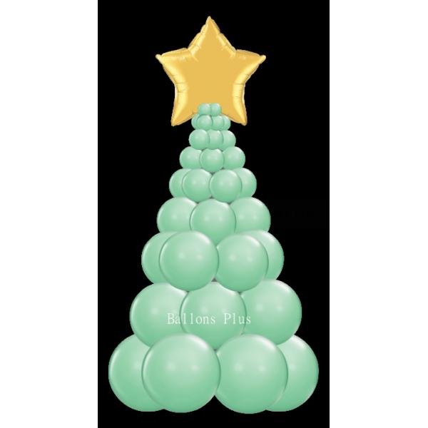 kit Sapin Noel vert hiverballonsplus2018sapinnuverthiver Decor Ballons Kits Colonnes