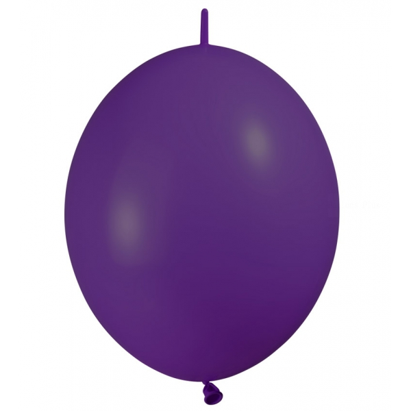 25 DOUBLE ATTACHE 30 cm opaque violet eco lux