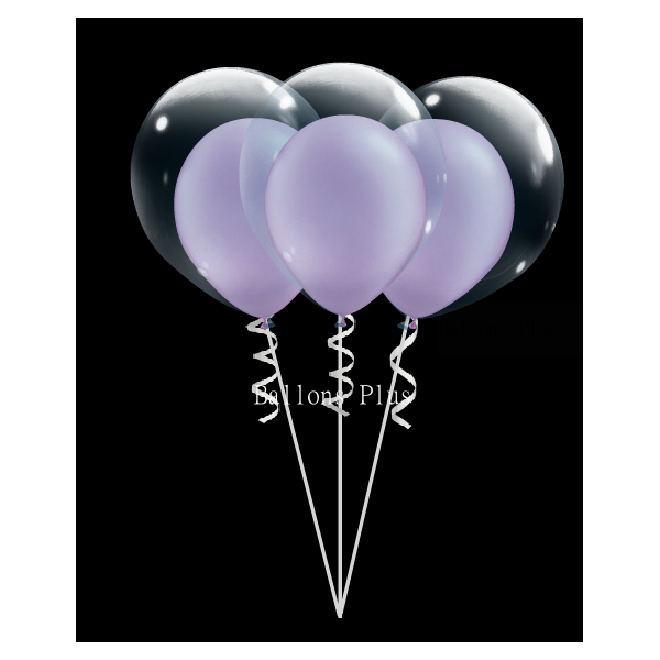 kit pour créer 6 double bulle lilas perlébulle28 v1CA51CB39 Kits Ballons