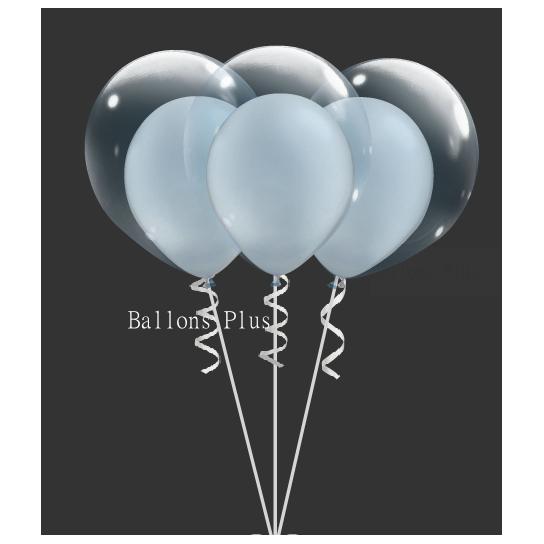 kit pour créer 6 double bulle argent métal