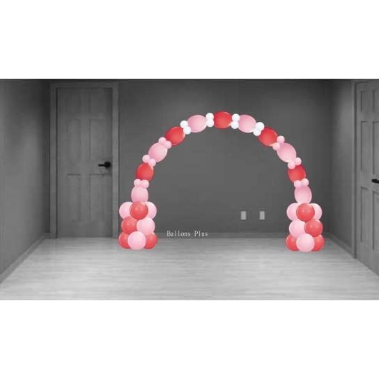 kit arche v8 rouge rosek archlolv8 rouge rose Kit Décor Ballons Arches Et Guirlandes