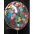 kit pour 12 ballons confettis