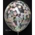 kit pour 12 ballons confettis pastel