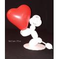 kit pour réaliser 10 caniches amoureuxkit10canicheamoureux Kit Decor Ballons Fleurs