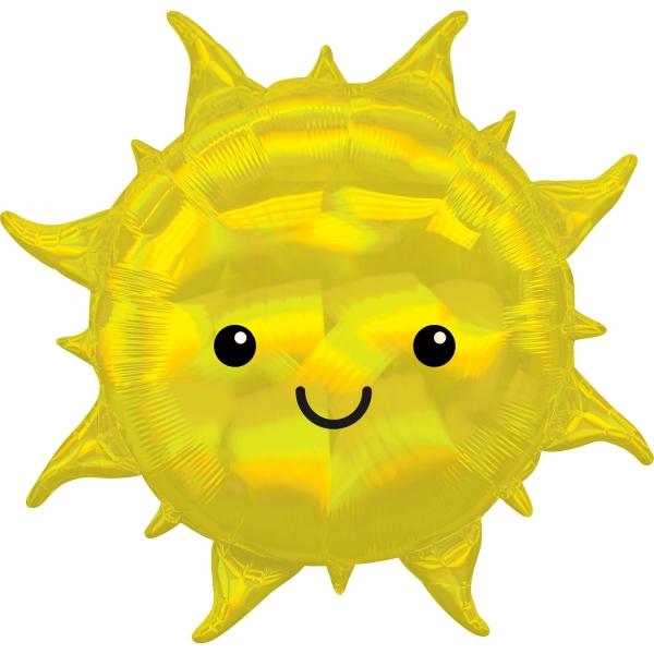 Soleil smile holographique 68 cm