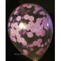 kit pour 12 ballons confettis pastelconfetti v1 lilas pastel Ballons confettis