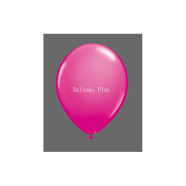 Impression 1 face 1 couleur 2000 exemplaires sur ballons 28cm Ø
