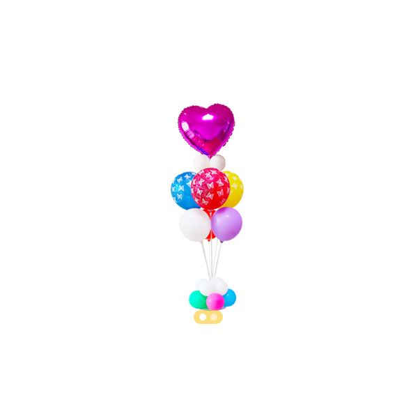 Support pour bouquet ballons air