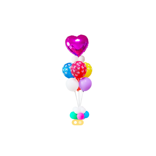 Support pour bouquet ballons air