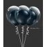 kit pour créer 6 ballons double bulle noir