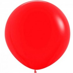 15 ballons sempertex rouge opaque 90 cm