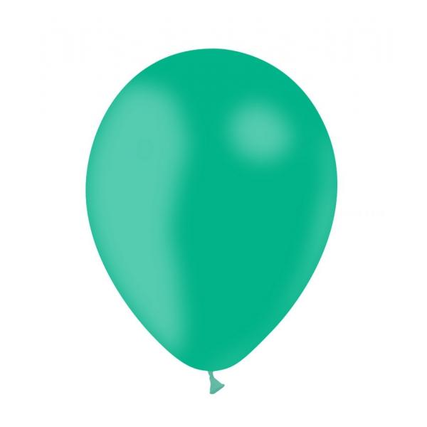 Menthe opaque 30cm poche de 100 ballons
