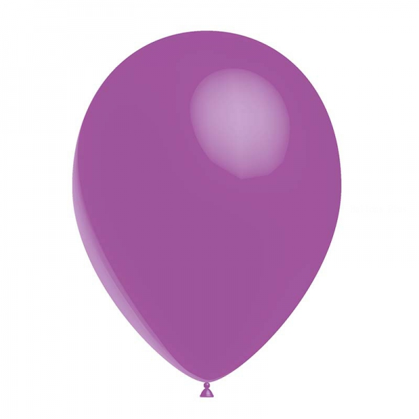 25 ballons lavande métal 26 cm