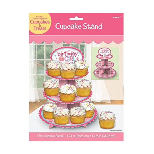Cupcake stand fille 29*39 cm149569 Princesses