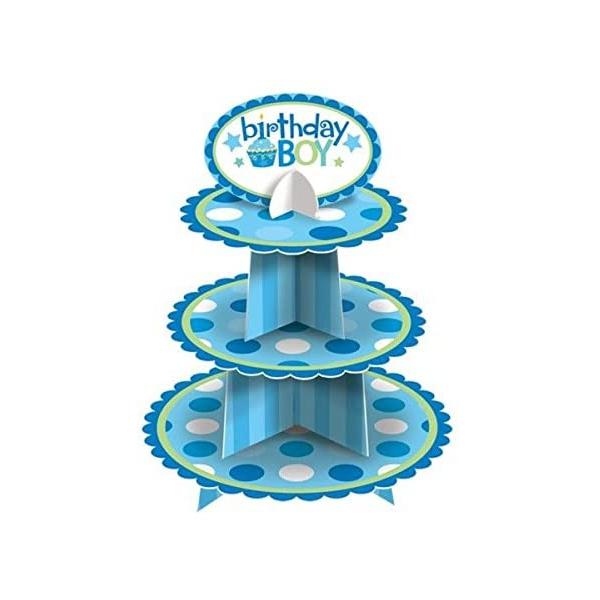 Cupcake stand garçon 29*39 cm