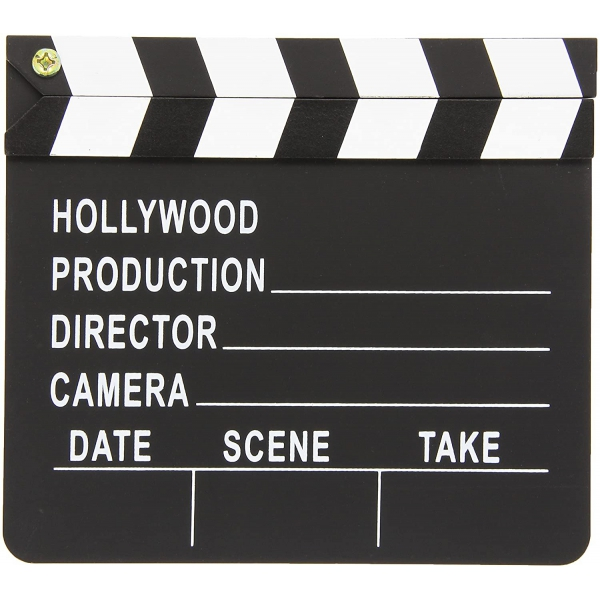 1 Hollywood Director's Party Clapboard,