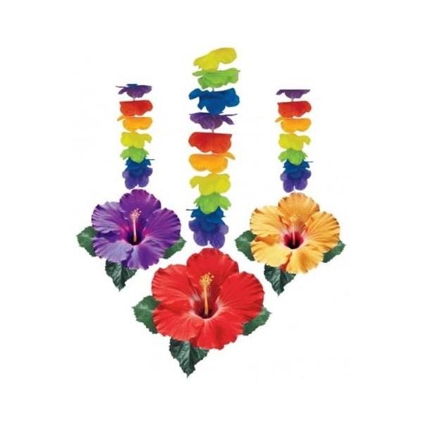 3 suspensions fleurs les iles