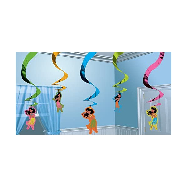 5 Hula Girl SUSPENSION 61 cm