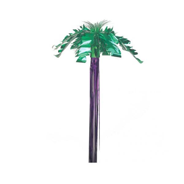 suspension palmier verte et violet 1.5m