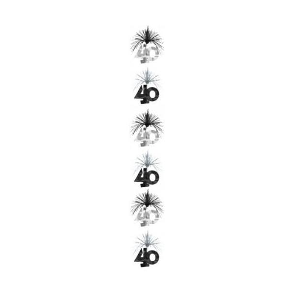1 suspension colonne 40 hauteur 210 cm