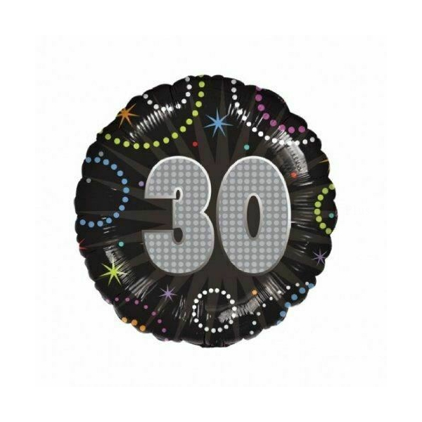 30 anniversaire time to party ballon mylar