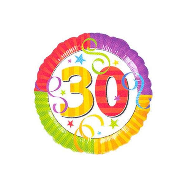 30 raddiant ballon foil 45cm