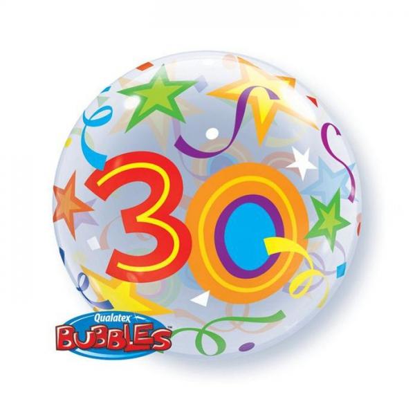 bubble 30em anniversaire 56cm