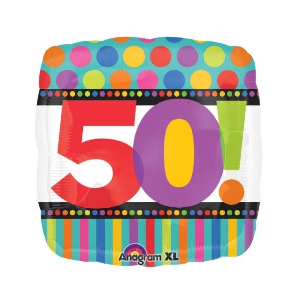 50 anniversaire points et lignes