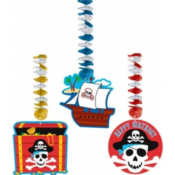 3 suspensions et découpes pirate 76.2 cm