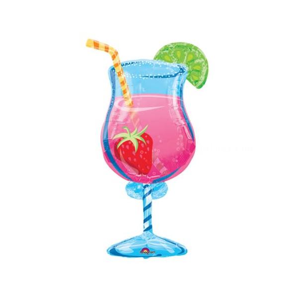 verre tropical cooler 51*89 cm alu non gonflé