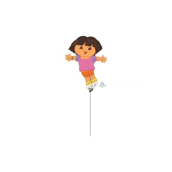 dora mini ballon mylar