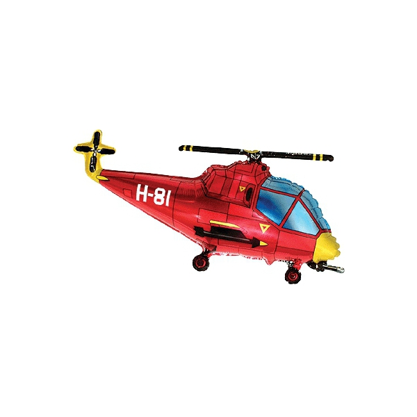 helicopter forme 23cm (gonflage air)