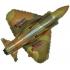 super avion militaire forme 23cm (gonflage air)