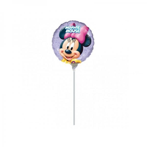 Minnie mini ballon 23 cm mylar vendu non gonflé
