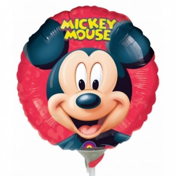 mickey mini mylar 23cm vendu non gonflé
