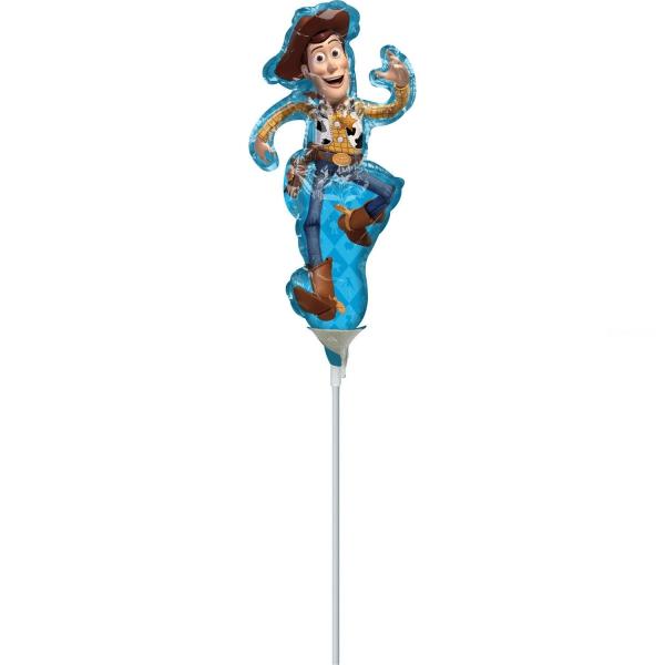 mini woody ballon mylar 23cm